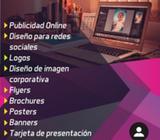 Servicios de Diseñador Gráfico, publicidad y mas