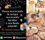Fiestas Eventos Pizza Party