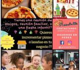 Pizzas Lasañas para Negocio Y Eventos