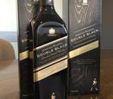 Whisky Johnnie Walker Double Black, Johnnie Negro, botella 1 litro