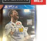 Juego para PS4  FIFA 2018 Original