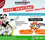 CURSO VACACIONAL QUITO KNOCKOUT KIDS 2018