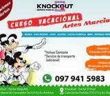 CURSO VACACIONAL QUITO KNOCKOUT KIDS 2018