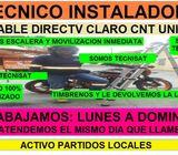 Instalador Antenas Directv Tvcable Univisa CNT Instalaciones GARANTIZADA y con Partidos