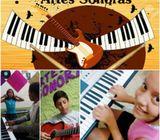 ESCUELA DE MÚSICA ARTES SONORAS PIANO GUITARRA VIOLÍN CANTO SECTOR NORTE PENSIÓN $40 0969908604