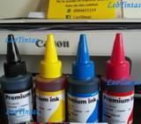 Tintas para Canon Sistemas Continuos Pack 4 Colores