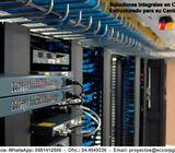Cableado Estructurado, Categoría 5E, 6, 6A, Fibra Óptica - Contáctenos: WhatsApp 0981412606 - Ofic.