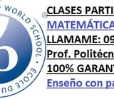 Clases a domicilio Matemática y Física. 0999000067