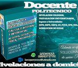 CLASES DE MATEMÁTICA - NIVELACIONES A DOMICILIO  Para estudiantes de colegio y universidad