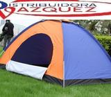 Carpa para 4 Personas Impermeable