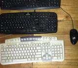 Teclados y Mouse