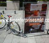 Publicidad móvil,  Bicicletas publicitarias