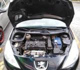 Peugeot 2012 Negro Oferta 15mil Km