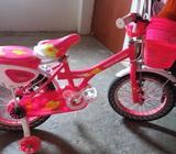 Bicicleta NUEVA para niña de 4 a 9 años