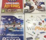 Vendo Juegos de Wii Fisicos Originales