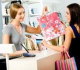 Señorita:atención Cliente Y Recepción