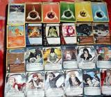tarjetas y tazos