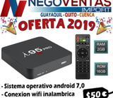 TV BOX I95 PRO CON 2 RAM Y 16 GB INTERNA CONVERTIDOR DE TV A SMART TV