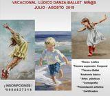 VACACIONAL LÚDICO DANZA-BALLET NIÑ@S.  CASA DE LA CULTURA ECUATORIANA QUITO  2019