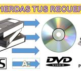 CONVERSION DE VHS, MINIDV A DVD O A UN PENDRIVE