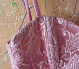 Vestido Rosa de Tul