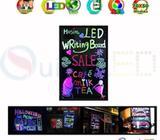 Pizarra Led 50x70 Cm Publicidad Creativa Multicolor 2 marcadores de Obsequio