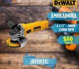 Amoladora DeWALT 800W 4-1/2