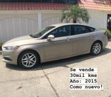 Flamante Ford Fusion 2015 30Mil Kms
