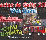 ALQUILE LA MEJOR CHIVA RUMBERA, QUITEÑA, FARRERA PARA FIESTAS DE QUITO 2019
