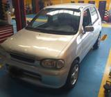Suzuki Alto Año 2001