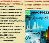 0990896229 CLASES A DOMICILIO, ESTADISTICA, EXCEL, SPSS, MINITAB, MATE FINANCIERAS, FISICA, QUIMIK,