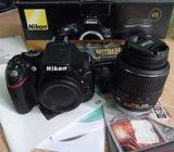New Original for sale inbox Nikon D5200 Kit 18-55mm VR