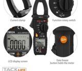 Amperimetro- Multimetro tipo pinza mide capacitancia y temperatura