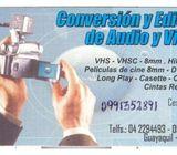 TRANSFIERA A DIGITAL VHS BETA OCHO MM LPS SLIDES MINI DV FOTOS ETC