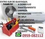 SPLIT REFRIGERADORA REPARACION  MANTENIMIENTO CURSOS 0959082112