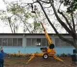 Plataformas tijera acordeón en Ecuador