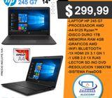 Laptop Hp 245 G7 Amd A4-9125 2 Nucleos 2.3ghz hasta 2.6ghz 4gb Ram 1tb Disco 14inc Freedos