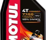 Aceite Motul 4t 15w50 7100 100% Sintético Ma2 Original