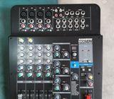 Se vende Consola marca Samson, modelo Mix pad MX124FX