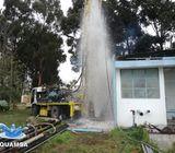 Construcción de pozos de agua
