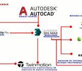 3DCurso,AutoCAD,skechup,3dsMax,2do Alumno 1/2 $