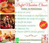Cenas navideñas a domicilio en Quito