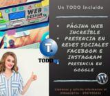 PAGINA WEB - REDES SOCIALES - APP APLICACIONES