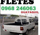 CAMIONETA Y FLETE EN GUAYAQUIL MUDANZA PEQUEÑAS  0968246063