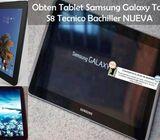 Obten Tablet Sam Gax Tab S8 Tec Bach NUEVA