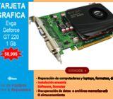 TARJETA GRAFICA GEFORCE GT 220